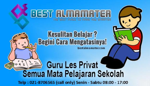 Bestalmamater Guru Les Privat Semua Mata Pelajaran Sekolah